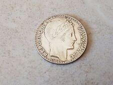 Pièce monnaie coin munt 1938 - 10 francs Turin - Marianne - République française