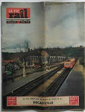 La Vie du Rail Notre Métier n°447- 1954 - Decauville un nom célèbre pour la SNCF