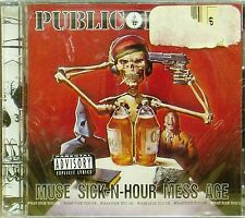 PUBLIC ENEMY 'MUSE SICK N HOUR MESS AGE' 17-TRACK CD SEALED