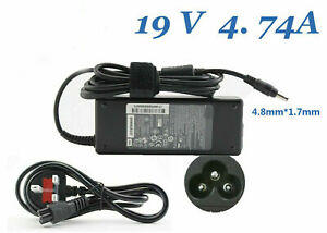Replacement Charger Adapter 19V 4.74A 90W for HP Bullet Pavilion DV6700 DV6000