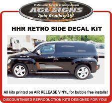 Chevrolet HHR Retro Woodgrain Side Graphics Kit   decal