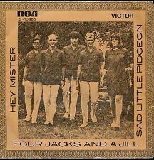 7inch FOUR JACKS AND JILL hey mister SPAIN VG++  +PS