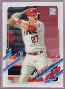 Mike Trout Los Angels Angels 2021 Topps On Demand 3D #27
