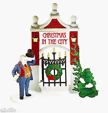 A Key To Christmas In The City #58893 Dept 56 Christmas In City Village
