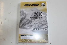 SKI-DOO 2010 OPERATOR'S GUIDE REV- XP (L/C) 520000980