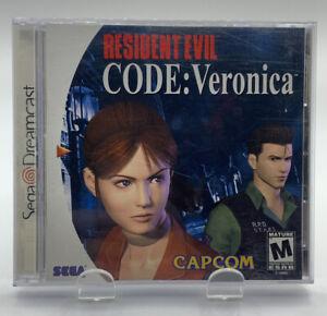 Resident Evil Code Veronica SEGA Dreamcast Complete CIB NTSC Capcom Registration