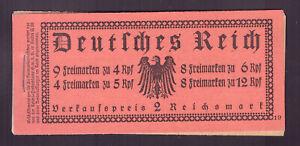 Deutsches Reich Markenheftchen MH26.2 ONR 19 Reichspräsidenten 1932** Mi: 1000€!