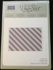 Stampin' Up STYLISH STRIPES Textured Impressions Embossing Folder