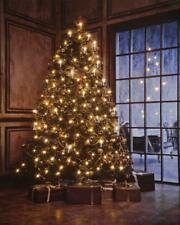 Large Quality Festive Christmas Tree Scene Light Up LED Canvas/Picture 50 x 40cm