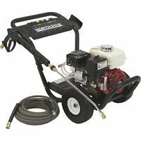NorthStar Gas Cold Water Pressure Washer - 3300 PSI, 2.5 GPM, Honda Engine,