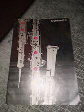 Bang & Olufsen 1977- 1978 77 - 78 catalog in GERMAN
