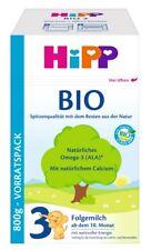 Hipp 3 Bio 800g Lait de Suite Ab 10. Mois 9529021 (17,24 Eur / kg)