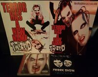 Twiztid  - Freek Show CD Flyer Lot insane clown posse psyhcopathic records rydas