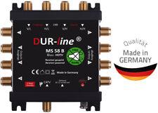 DUR-Line Multischalter MS 58 B ECO für 1 Satellit Stromlos