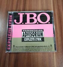 J. B. O. - Explizite Lyrik (1995) Album Fun Metal Musik CD *sehr guter Zustand*