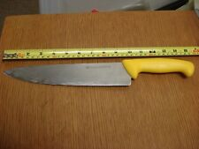 "9.5"" blade HENCKELS ZWILLING Pro Chef's Knife yellow handle 15"" long 32108-256"