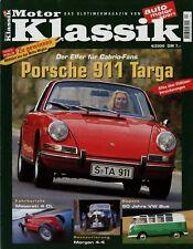 Motor Klassik 4/00 2000 VW Bulli Morgan 4-4 Porsche 911 T Rover 3500 SD1 Sonett