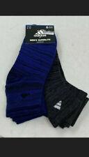 6 Pair Adidas Men's Superlite Aeroready Quarter Cut Running Socks  Size 6-12
