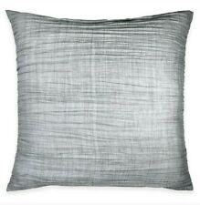 "Dkny City Pleat 26"" x 26"" European Pillow Sham in Grey"