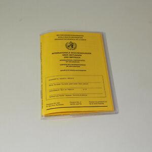 Impfpass-Hüllen / Schutzhülle für Impfbuch / ab 50 Stk / 20 x 13,8 cm (6 cm ESF)