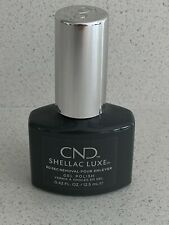 CND SHELLAC LUXE  UV Nail Polish - 60 seconds removal in silhouette - 12.5ml