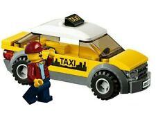 Lego Stadt Gelb Taxi Auto & Fahrer Minifigur Zug Stadt Szene Geschenk