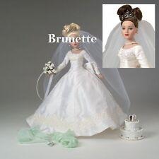 TONNER Tiny Kitty Collier FOREVER YOURS Bridal Hat Box Set BRUNETTE