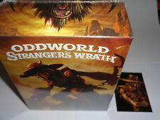 New ODDWORLD STRANGER'S WRATH Limited Run PS3 Game Collector's Edition LRG