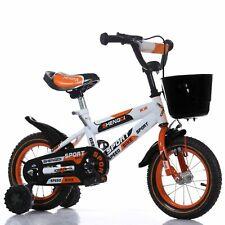 TOG 12 Zoll Speed Kinderfahrrad  Rücktrittbremse Stützräder Korb Orange