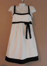 Womens OLIAN Black & White Maternity Dress Size M Sundress So Cute Baby Shower