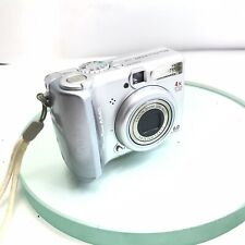 Canon PowerShot A540 6MP 4x Zoom Silver Takes AA, Viewfinder Digital Camera #505
