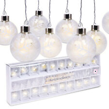 20 LED Christmas Party Tree Bauble Holiday Decoration String Xmas Fairy Lights
