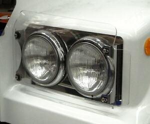 "Headlight Protectors/Covers, Acryl ""Pair"". Suit Western star 4800/4900, Kenworth"