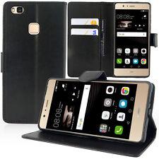 Etui Coque Housse Portefeuille Video NOIR pour Huawei P9 lite/ G9 Lite