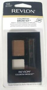 Revlon ColorStay Brow Kit Powder Shade Soft Brown 104