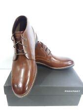 Rockport Men's Classic Break Chukka Boot- Dark Brown Leather-11.5 M