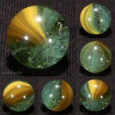 AWESOME Master Made BUBBLY Sunburst Vintage Marble 5/8 Mint hawkeyespicks
