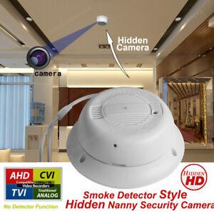Smoke Alarm Detector Style Hidden Security Camera 1080p HD Covert Camera