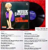 LP Anita Lindblom: Musik (S)exklusiv (1965) D