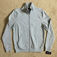 MICHAEL KORS Mens KR75FM000D Heather Grey Full Zip Sweatshirt (Small) NWT $99.50