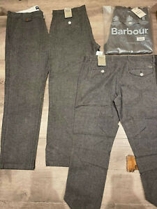 Barbour Neustron Brushed Utility Chinos Grey BNWT W38 L32