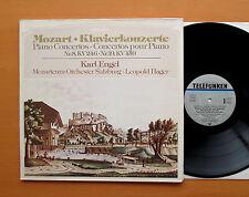 Mozart Piano Concertos no. 8 & 19 Karl Engel Telefunken 6.42187 AW Stereo NM/EX