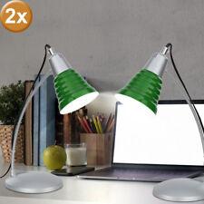 2er Set Table Lamp Office Desk Light Spotlight Green Esto Giga