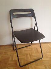 """Stühle, Klappstühle, Gartenstühle (schwarz) """"NISSE"""" von Ikea"""