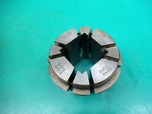 """ENGINEERS CRAWFORD MULTIBORE COLLET T285 E98   1-1/2""""- 1-5/8"""" SQUARE"""