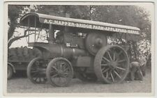 Alf Napper's Showmans Engine At First Rally, RP PPC, Unposted, c 1950's