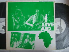 LIVE AID / 2LP THE WHO BOB DYLAN MICK JAGGER