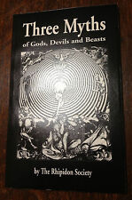 Signed Occult Mythology book: Baphomet, Phoenix, Dionysus Philip K Dick interest