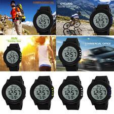 HONHX Men's LED Waterproof  Military Sport Watch Digital Quartz Watch Acrylic AU