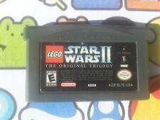 Nintendo GAMEBOY ADVANCE LEGO STAR WARS 2 THE ORIGINAL TRILOGY   FREE POST DS